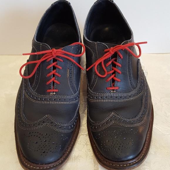 d82f01d173b Allen Edmonds Other - Allen Edmonds Neumok wingtip blue Oxford shoes 12D